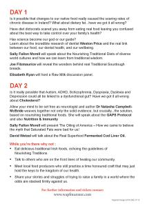 Conference Flier Page 2